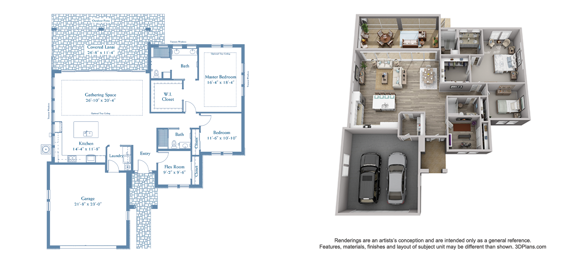 Starling floor plan