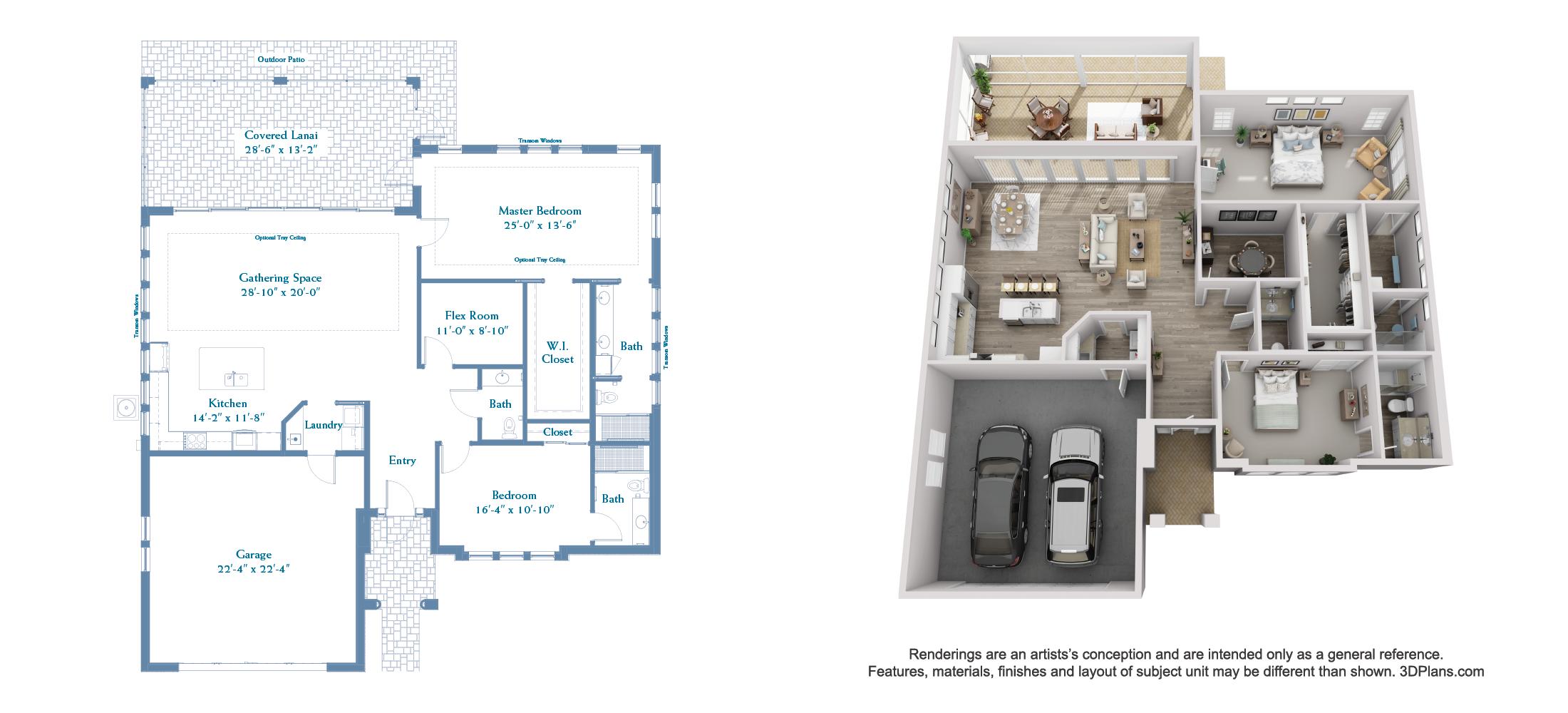 Willet floor plan