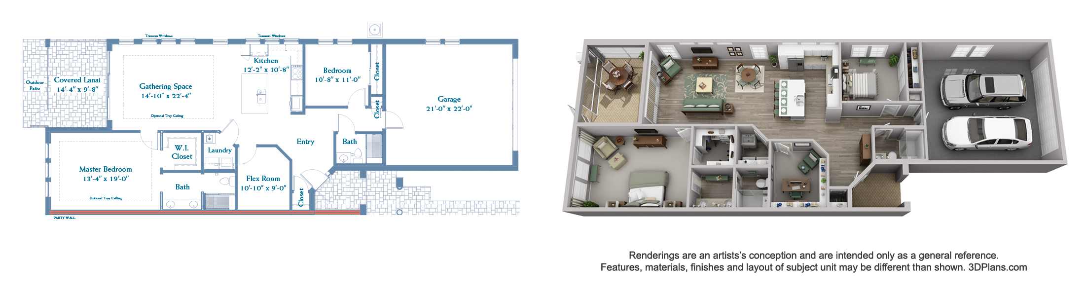 Finch floor plan