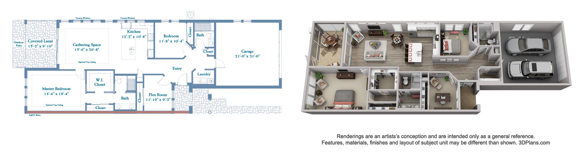 Plover floor plan