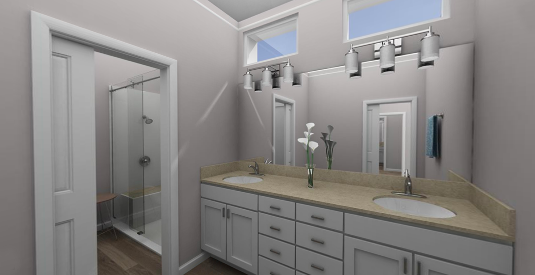 The Starling/Master Bathroom